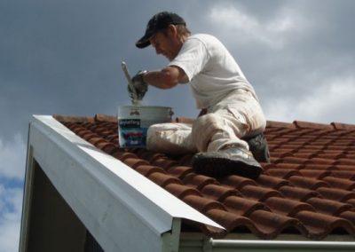 Stig på taket