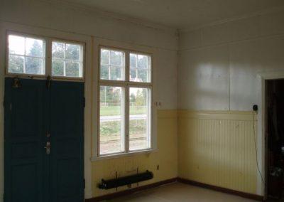 Innan renovering av Virserums stationshus.