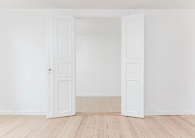 Måla dörren